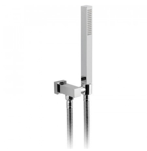 Vado Mix Single Function Mini Shower Kit With 150Cm Shower Hose And Bracket With Integrated Outlet - Mix-Sfmkwo-C/P VADO1263