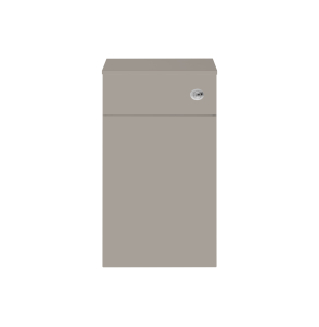 Nuie Athena Stone Grey Contemporary 500mm WC Unit - MOC542 MOC542