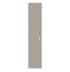 Nuie Athena Stone Grey Contemporary 300mm Tall Unit (1 Door) - MOC561 MOC561