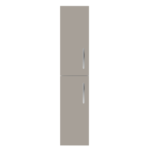Nuie Athena Stone Grey Contemporary 300mm Tall Unit (2 Door) - MOC562 MOC562
