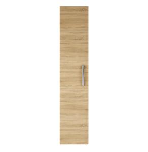 Nuie Athena Natural Oak Contemporary 300mm Tall Unit (1 Door) - MOC661 MOC661