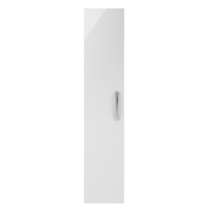 Nuie Athena Gloss White Contemporary 300mm Tall Unit (1 Door) - MOE161 MOE161