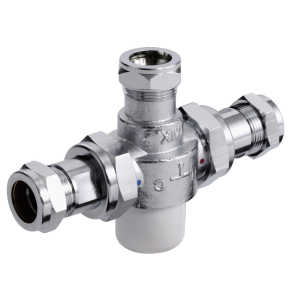 Bristan 22mm Thermostatic Mixing Valve - MT753CP MT753CP