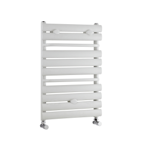 Nuie White Ladder Rails Contemporary Heated Towel Rail - MTY081 MTY081