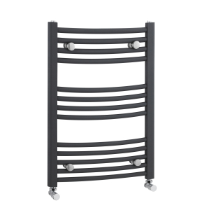 Nuie Anthracite Ladder Rails Contemporary Curved Rail - MTY102 MTY102