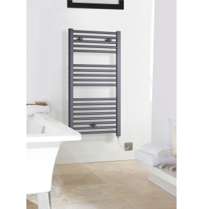 Nuie Electric Ladder Rails Anthracite Contemporary Towel Rail - MTY153 MTY153
