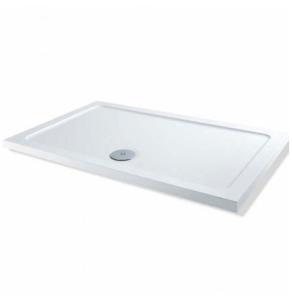 MX Elements Flat Top Rectangular Shower Tray 1100mm x 800mm - SPS SPS