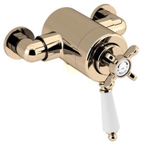 Bristan 1901 Exposed Concentric Shower Valve Only Gold - N2 CSHXVO G N2 CSHXVO G