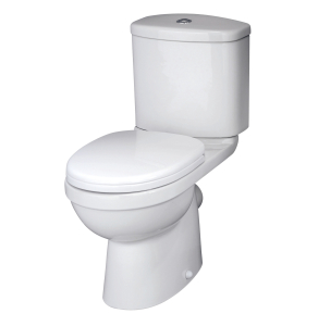 Nuie Ivo White Contemporary Close Coupled Pan & Cistern - NCS250 NCS250