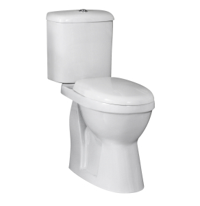 Nuie Doc M Pack White Contemporary Comfort Height Pan & Cistern - NCS500 NCS500