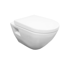 Nuie Provost White Contemporary Wall Hung Pan - NCU900C NCU900C