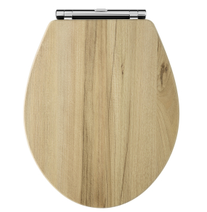 Carlton Richmond Wooden Toilet Seat Walnut NLS599