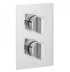 Vado Notion 2 Outlet 2 Handle Thermostatic Shower Valve Wall Mounted - Not-148D/2-C/P VADO1599