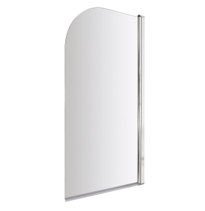 Nuie Bath Screens Polished Chrome Contemporary Straight Screen - NSS1 NSS1