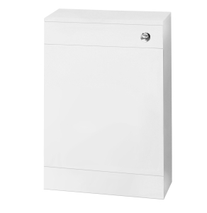 Nuie Cloakroom White Contemporary 500 WC Unit Including Concealed Cistern - NVS142 NVS142