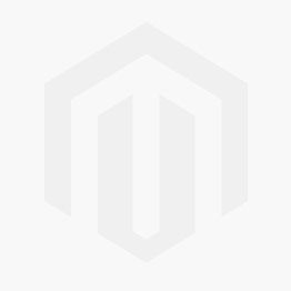 Nuie Athena Gloss White Contemporary 600mm Mirror Unit (50/50) - OFF117 OFF117
