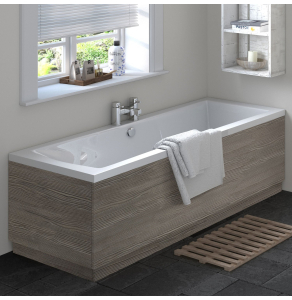 Hudson Reed 700 Bath End Panel & Plinth - OFF270 OFF270