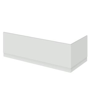 Nuie Athena Gloss Grey Mist Contemporary 700mm Bath End Panel - OFG470 OFG470