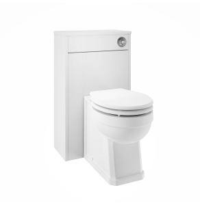 Nuie York White Ash Traditional 500mm WC Unit - OLF141 OLF141