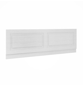 Nuie York White Ash Traditional 1800mm Bath Front Panel - OLP107 OLP107