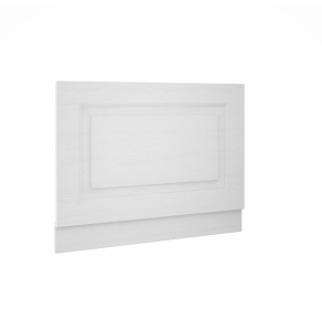 Nuie York White Ash Traditional 800mm Bath End Panel - OLP113 OLP113