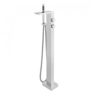 Vado Omika Floor Standing Bath/Shower Mixer With Shower Kit - Omi-133-C/P VADO1844