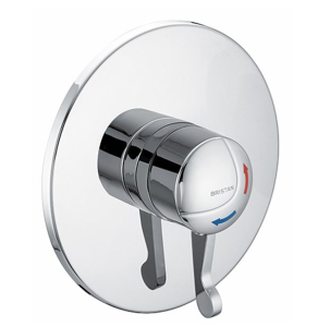 Bristan Opac TS1503 Concealed Shower Valve with Lever Chrome - OP TS1503 CL C OP TS1503 CL C