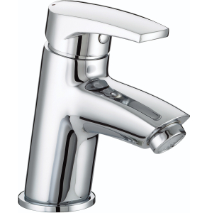 Bristan Orta Basin Mixer with Clicker Waste Chrome - OR BAS C OR BAS C