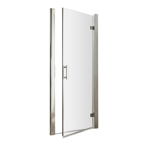 Nuie Pacific Hinged Door Polished Chrome Contemporary 700mm - AQHD70 AQHD70