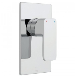 Vado Phase Square Back Plate Concealed Manual Shower Valve Single Lever Wall Mounted - Pha-145A-C/P VADO1444