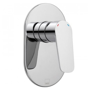 Vado Photon Square Concealed Manual Shower Valve Single Lever Wall Mounted - Pho-145A-C/P VADO1445