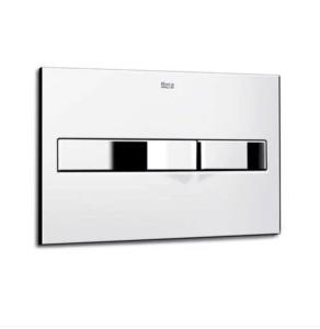 Roca PL2 Flush Plate In Chrome - 890096001 890096001