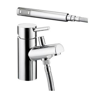 Bristan Prism 1 Hole Bath Shower Mixer Chrome - PM 1HBSM C PM 1HBSM C