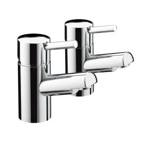 Bristan Prism Bath Taps Chrome - PM 3/4 C PM 3/4 C