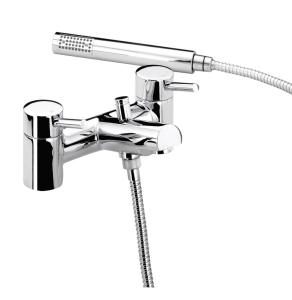 Bristan Prism Pillar Bath Shower Mixer Chrome - PM BSM C PM BSM C
