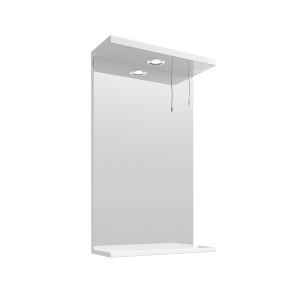Nuie Mayford White Contemporary Mirror - PRC111 PRC111