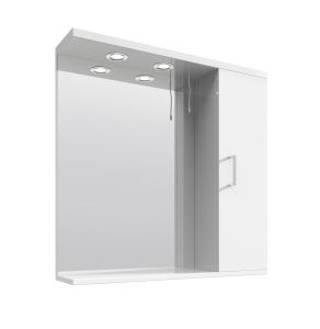 Nuie Mayford White Contemporary Mirror - PRC114 PRC114