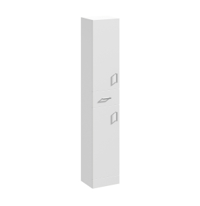 Nuie Mayford Gloss White Contemporary 350mm Tall Unit - PRC163 PRC163