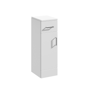Nuie Mayford Gloss White Contemporary Cupboard - PRC171 PRC171
