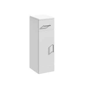Nuie Mayford Gloss White Contemporary Cupboard - PRC172 PRC172
