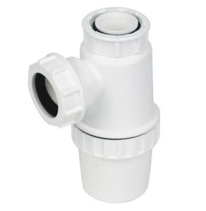 Floplast white bottle trap 76mm seal x 32mm TB37 - 61010101 61010101