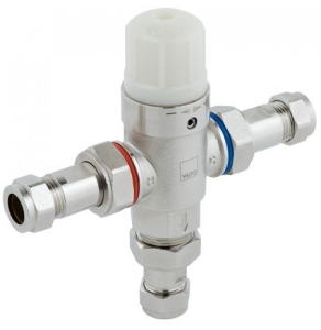 Vado Protherm In-Line Thermostatic Valve Tmv3 Approved Supplied With 15Mm And 22Mm Fittings - Pro-5001-N/P VADO1190