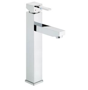 Bristan Quadrato Tall Basin Mixer No Waste Chrome - QD TBAS C QD TBAS C