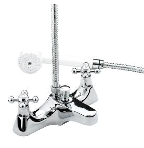 Bristan Regency Deck Mounted Bath Shower Mixer Chrome - R DBSM C R DBSM C
