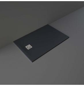 RAK Feeling Rectangular Shower Tray 1200mm x 800mm Solid Black - RFST080120S504 RAK10490