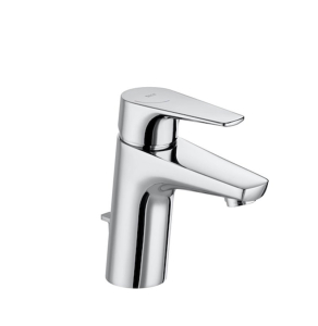 Roca Atlas Standard Height Basin Mixer Tap with Pop-up Waste In Chrome - 5A3090C0R RO10530