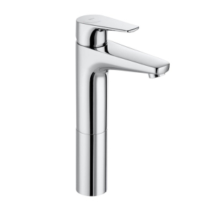 Roca Atlas Cold Start Body Extended Basin Mixer Tap In Chrome - 5A3790C0R RO10499