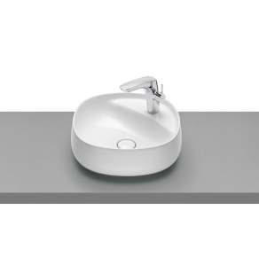 Roca Beyond Sit On Countertop Basin 450mm Wide - 1 Tap Hole - 3270B9000 RO10311