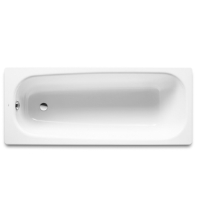 Roca Contesa Single Ended Steel Bath 1500mm x 700mm 0 Tap Hole - 2360K0000 RO10486