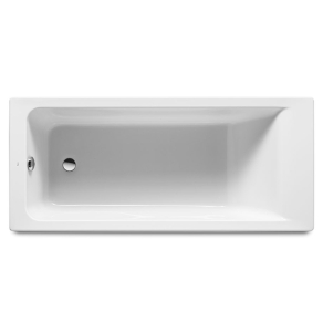 Roca Easy Single Ended Rectangular Acrylic Bath 1700mm x 750mm 0 Tap hole - 248334000 RO10487